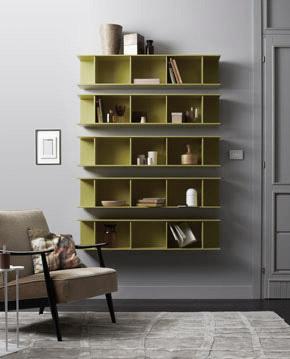Arda librerie orizzontali design Alessio Bassan