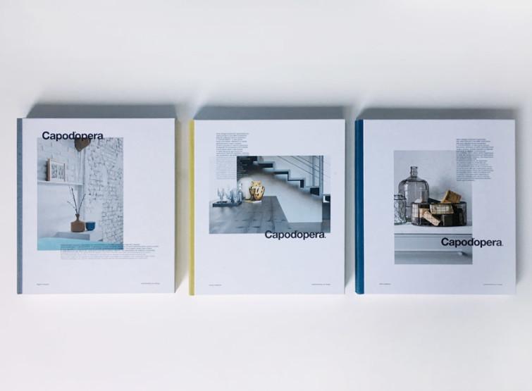 Cataloghi Capo d'opera design Alessio Bassan