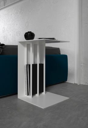 Duetto tavolino design Alessio Bassan