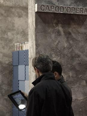 Milano 2011 allestimento design Alessio Bassan