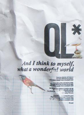 QL progetto grafico design Alessio Bassan