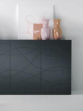 Ritmo poltroncina tavolo contenitori design Alessio Bassan
