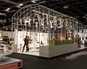 IMM Cologne 2013 allestimento design Alessio Bassan