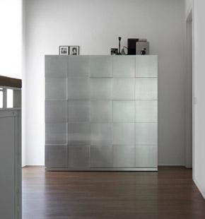 Quadro contenitori design Alessio Bassan