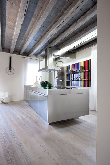 Basic cucina key cucine sbabo alessio bassan designer - Cucine d acciaio ...
