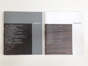Brochure Capo d'opera design Alessio Bassan
