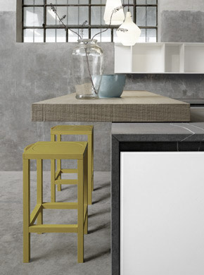 Glas cucina design Alessio Bassan