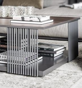 Lothar tavolini design Alessio Bassan
