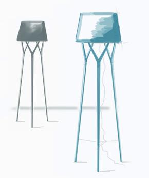Trè lampade design Alessio Bassan
