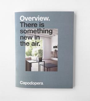 Brochure Capo d'opera 2017 design Alessio Bassan