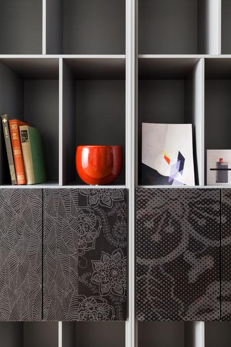Ateneo Librerie Contenitori design Alessio Bassan