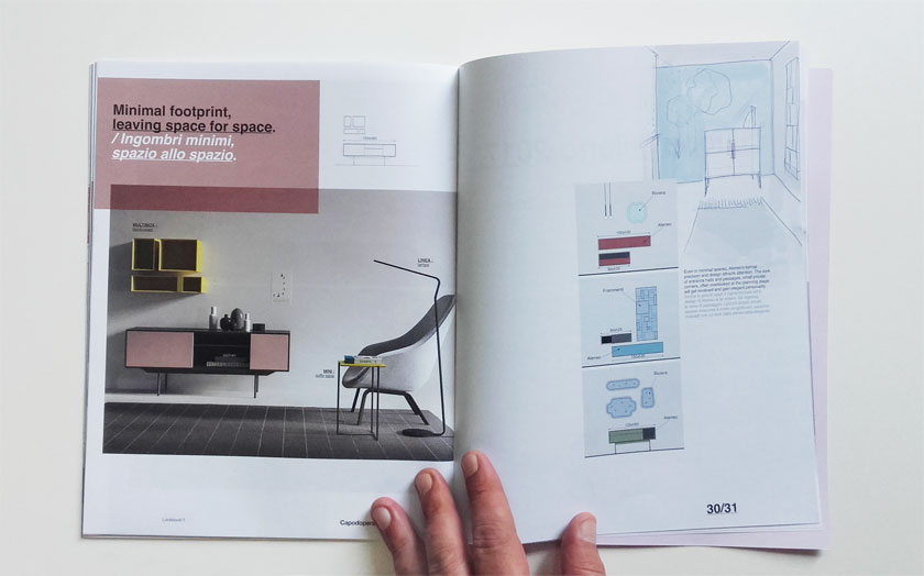 Look Book 1 brochure design Alessio Bassan