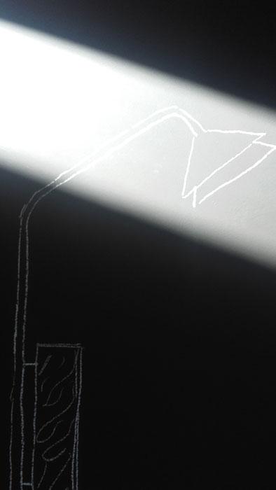 Nomade lampada design Alessio Bassan
