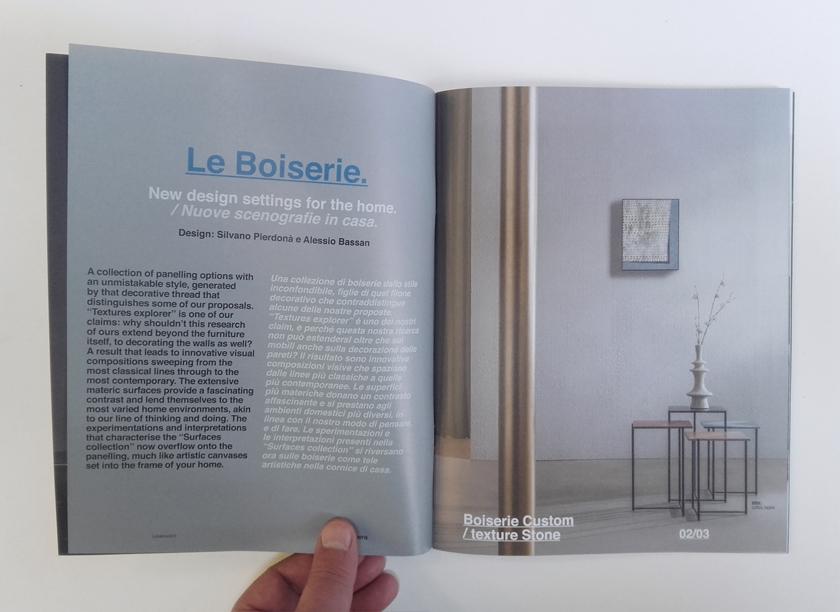 Look Book 2 brochure design Alessio Bassan